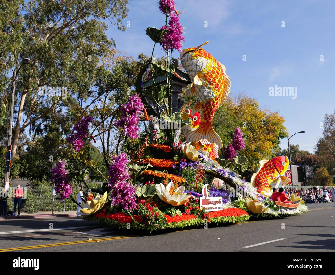 PASADENA, CALIFORNIA—JANUARY 1, 2018: The Singpoli American