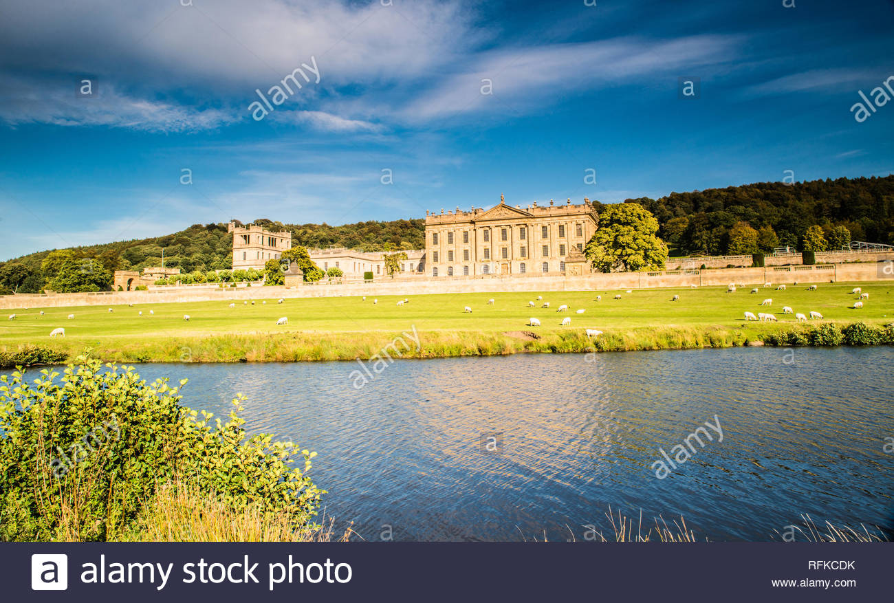 Chatsworth House Derbyshire,  Ray Boswell - Stock Image