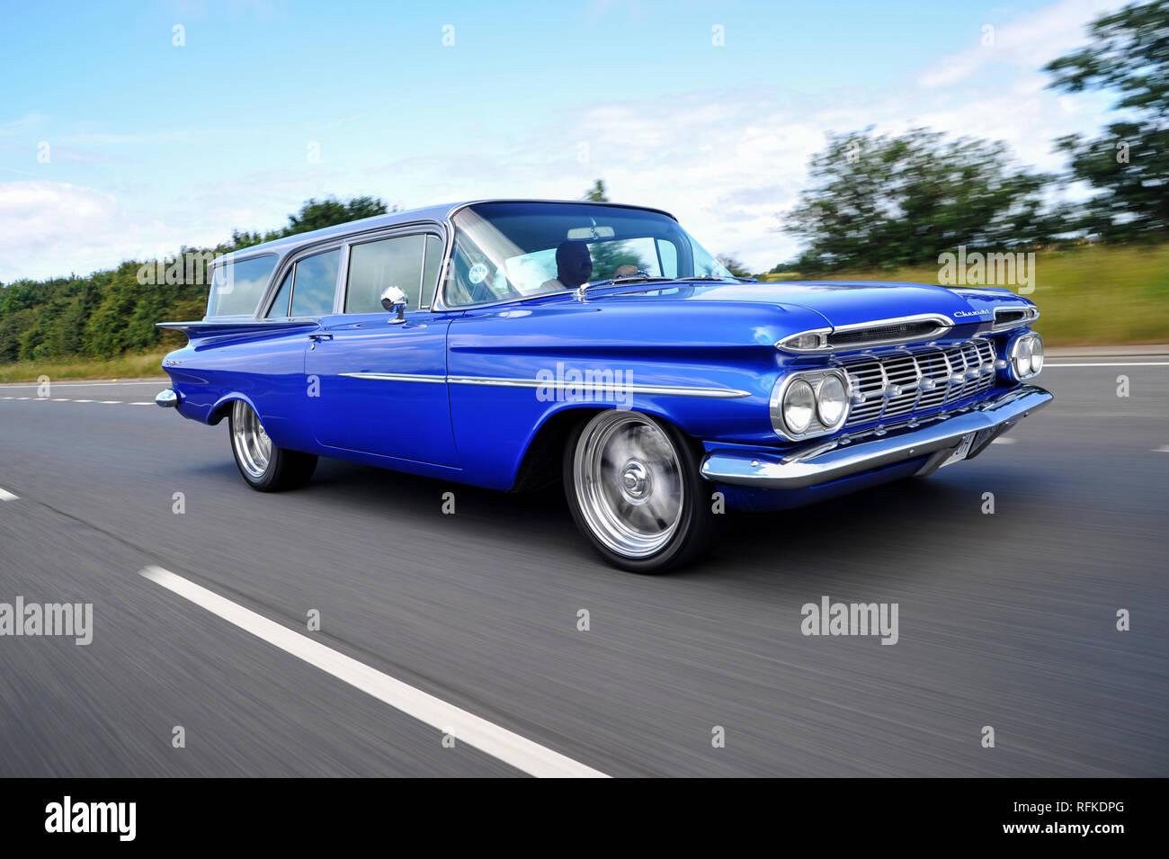Customised 1959 Chevrolet Brookwood Classic American 2