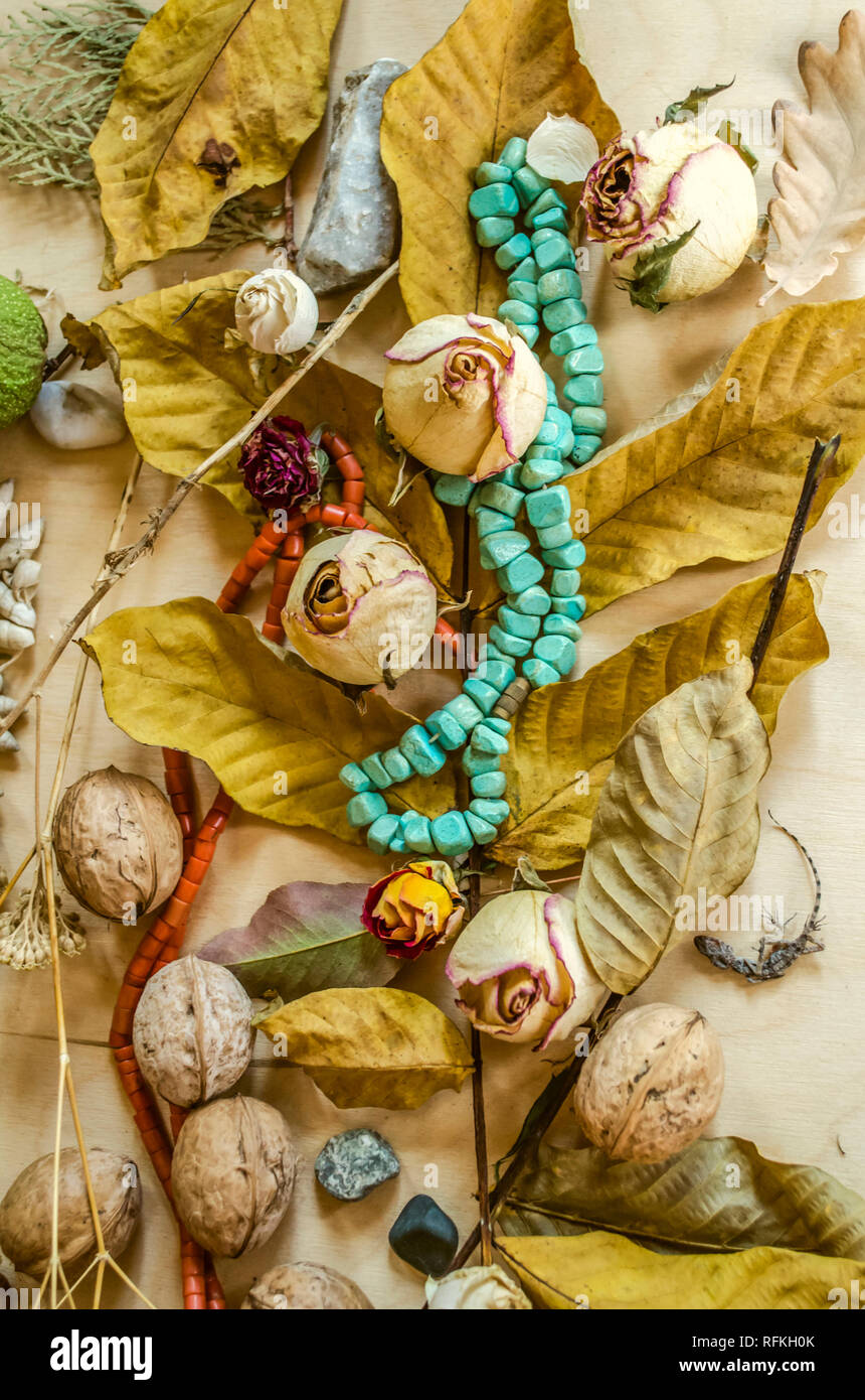 e2a15f9aa08 Turquoise And Coral Necklace Stock Photos   Turquoise And Coral ...