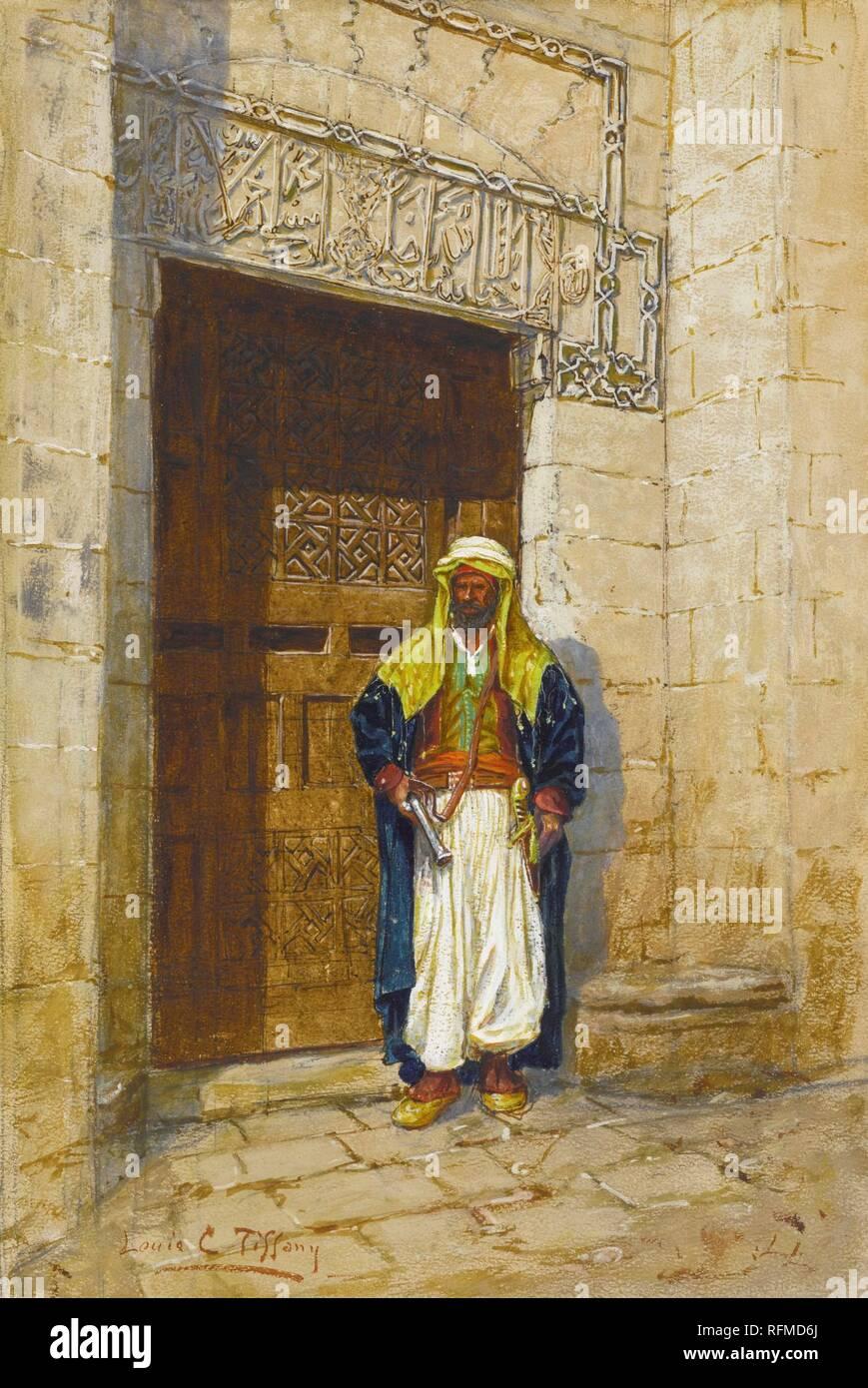 Louis Comfort Tiffany 1848 - 1933 ARABIAN SUBJECT.jpg - RFMD6J Stock Photo