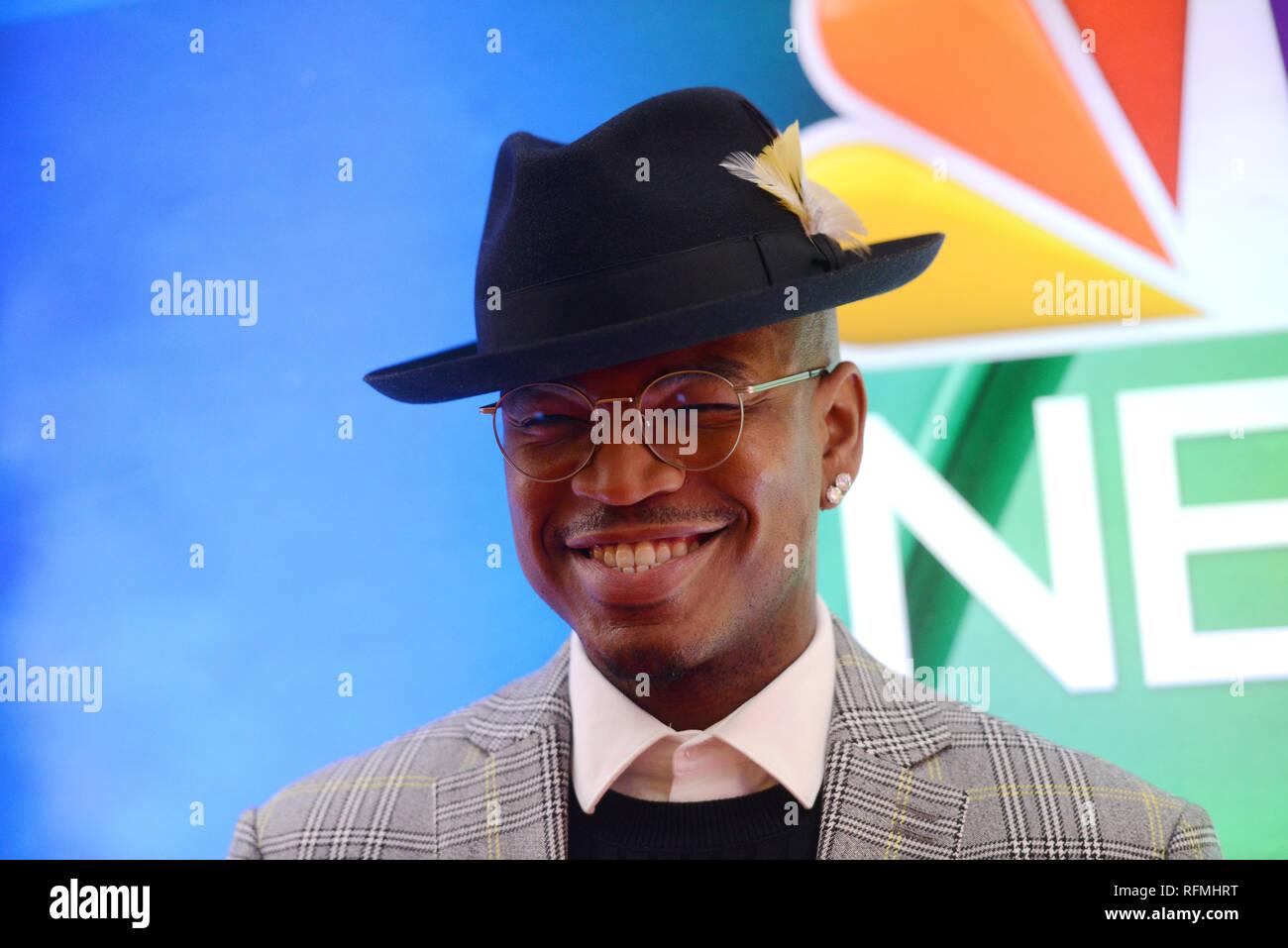 NE-YO attends NBC's New York Mid Season Press Junket at Four Seasons