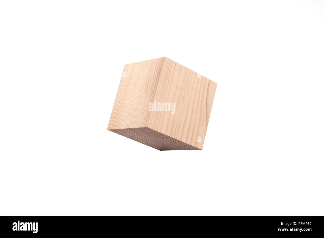Blank Cube Geometric 3d Shape Stock Photos & Blank Cube