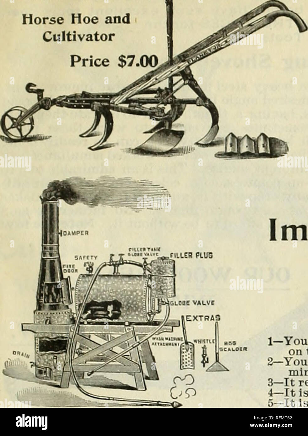 Leonard's catalogue of seeds & tools : 1899  Nursery stock