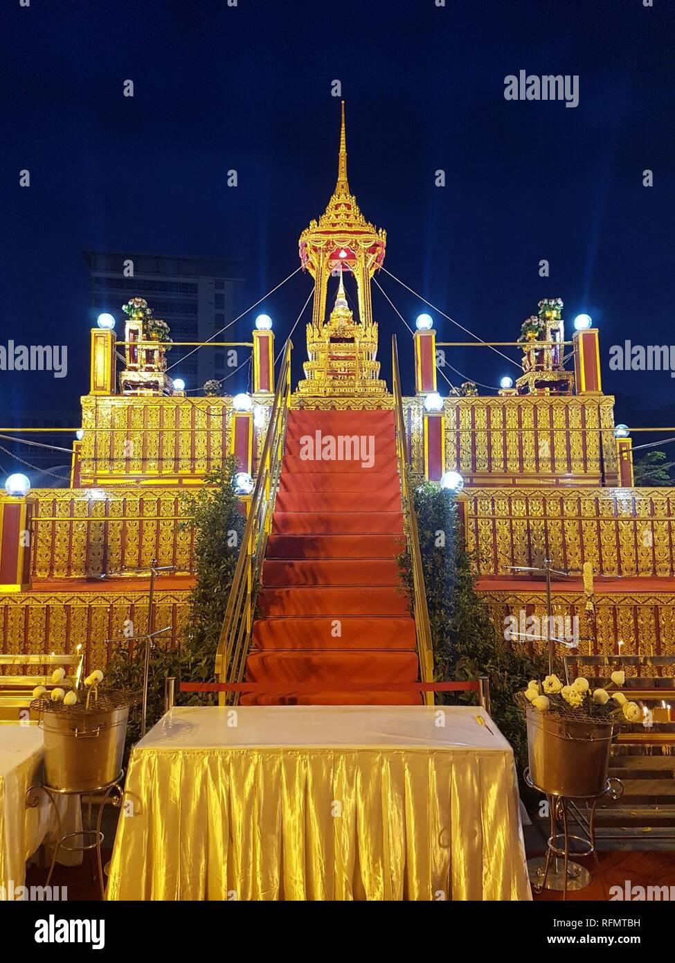 Bangkok Vesak - 2017-05-07 (001). - Stock Image