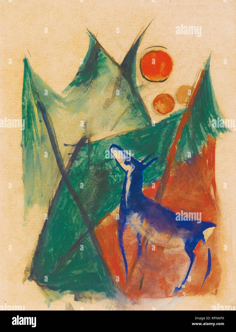 By Franz Marc 1880 1916 Stock Photos By Franz Marc 1880