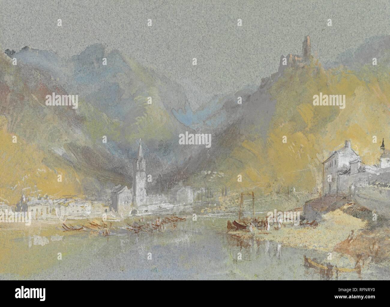 Joseph Mallord William Turner Paintings On The Mosel Bernkastel Kues And The Landshut Germany Jpg Rfnry0 Stock Photo Alamy