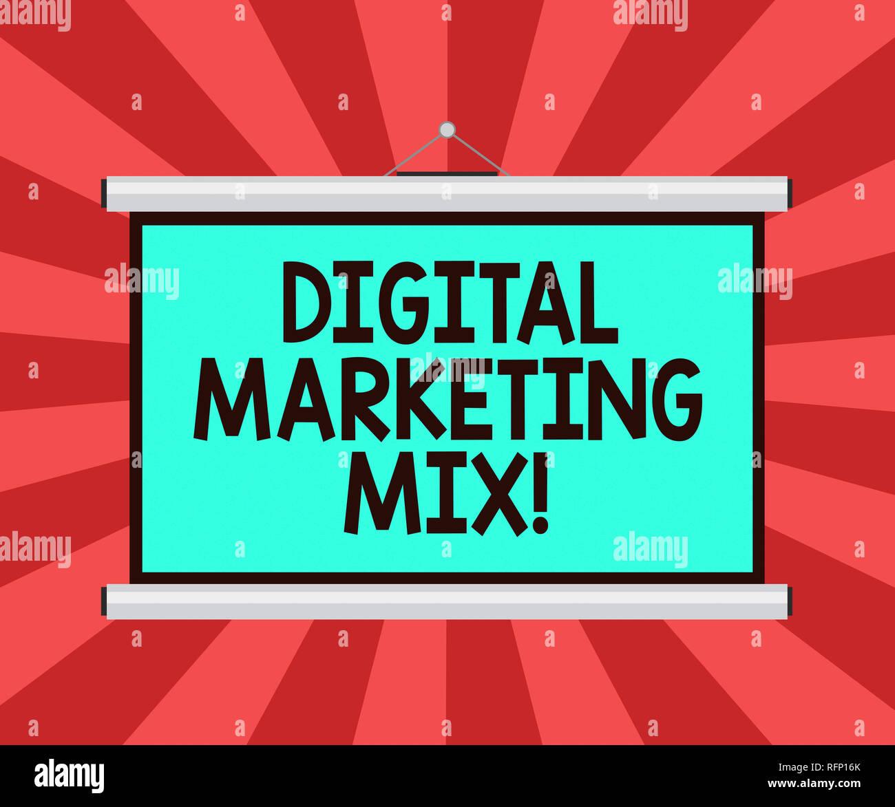 Marketing Business Promotion Mix Stock Photos & Marketing