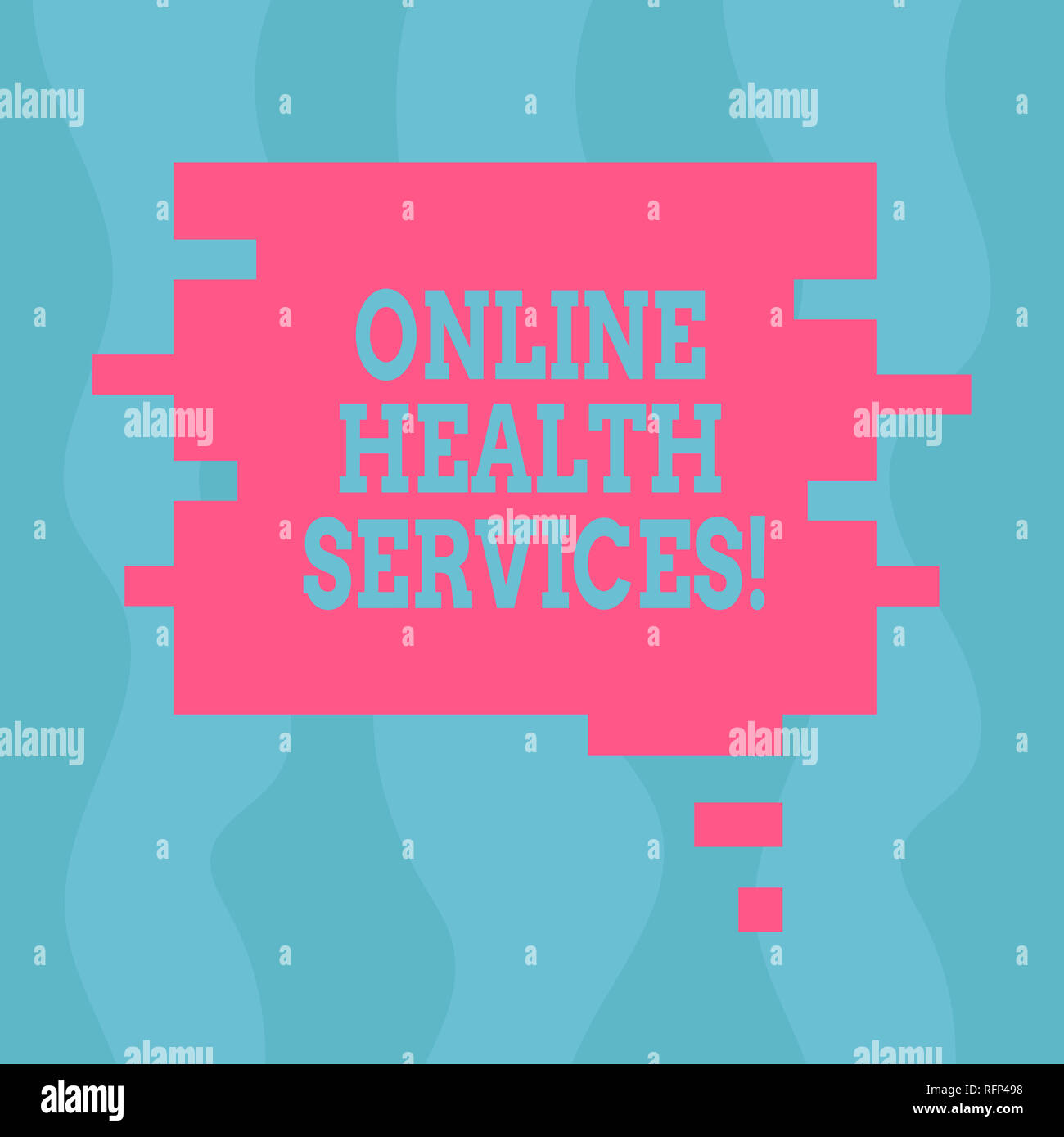 Conceptual hand writing showing Online Health Services  Business