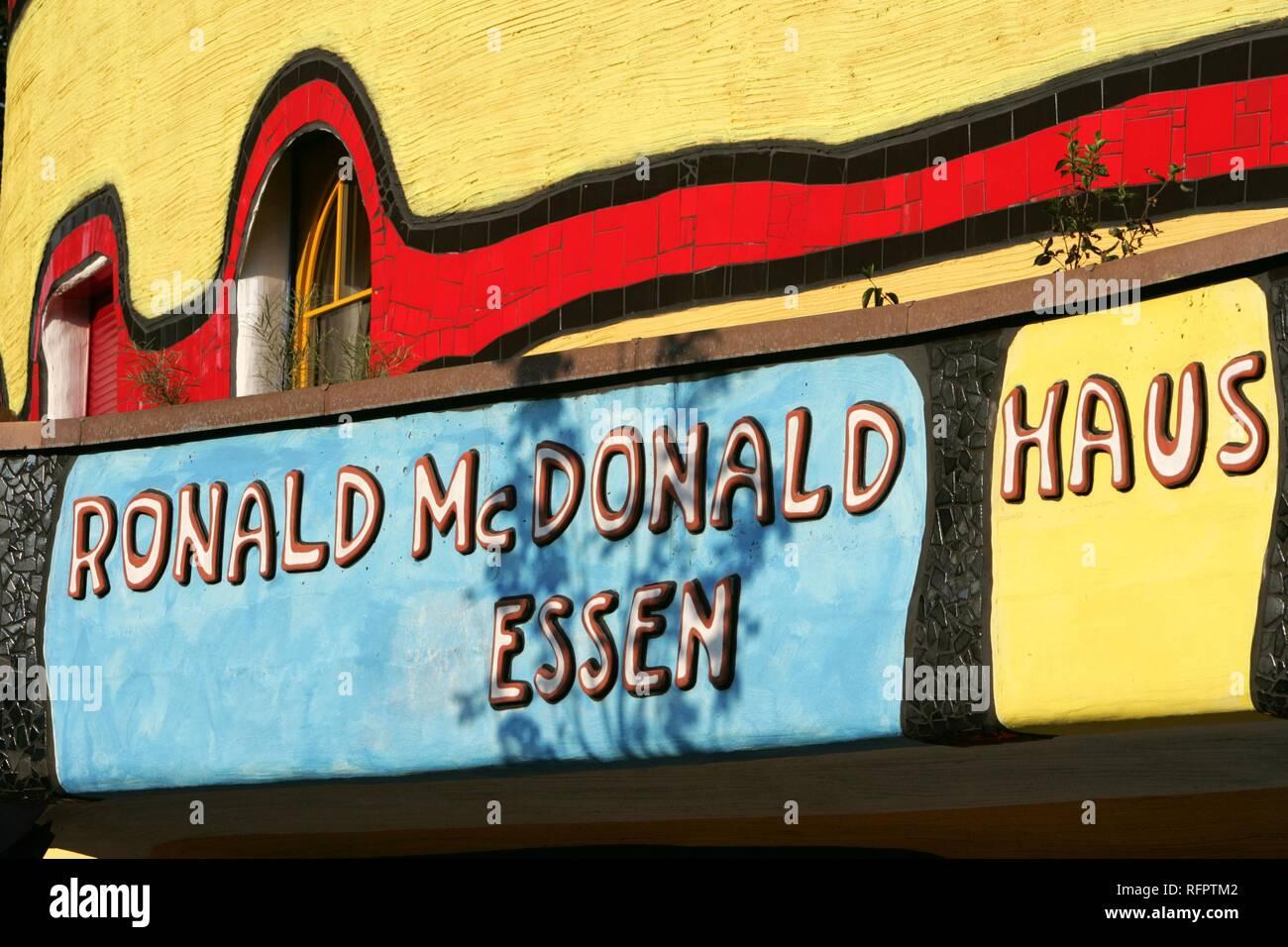 Ronald mcdonald haus essen