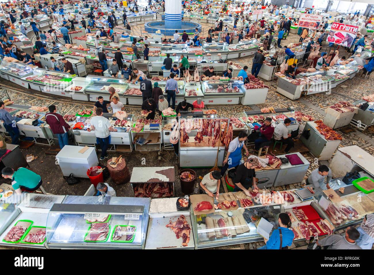 Chorsu Bazaar, Tashkent, Uzbekistan Stock Photo