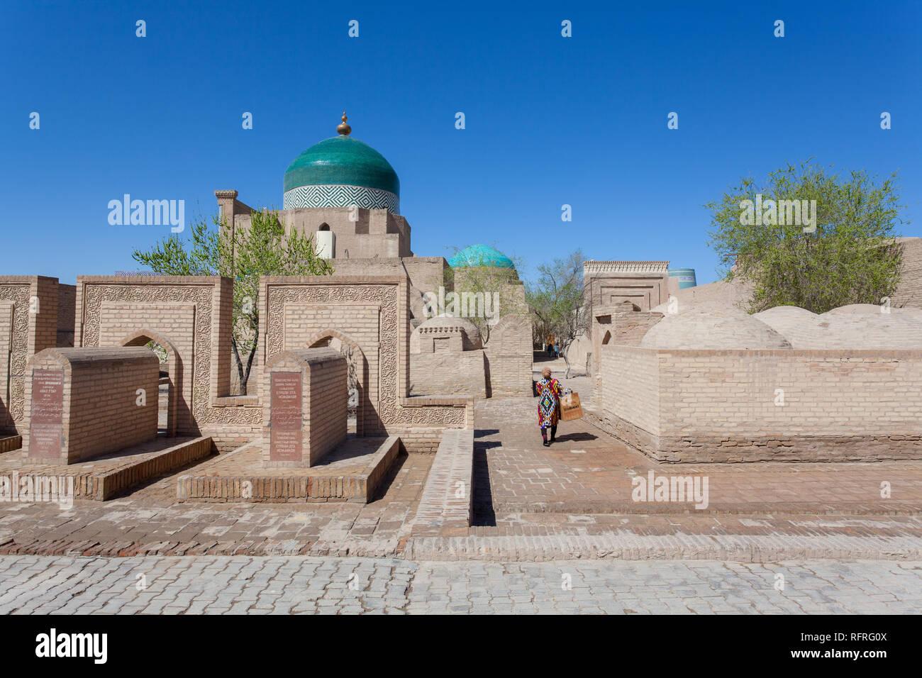 Mausoleum, Kihva, Uzbekistan - Stock Image