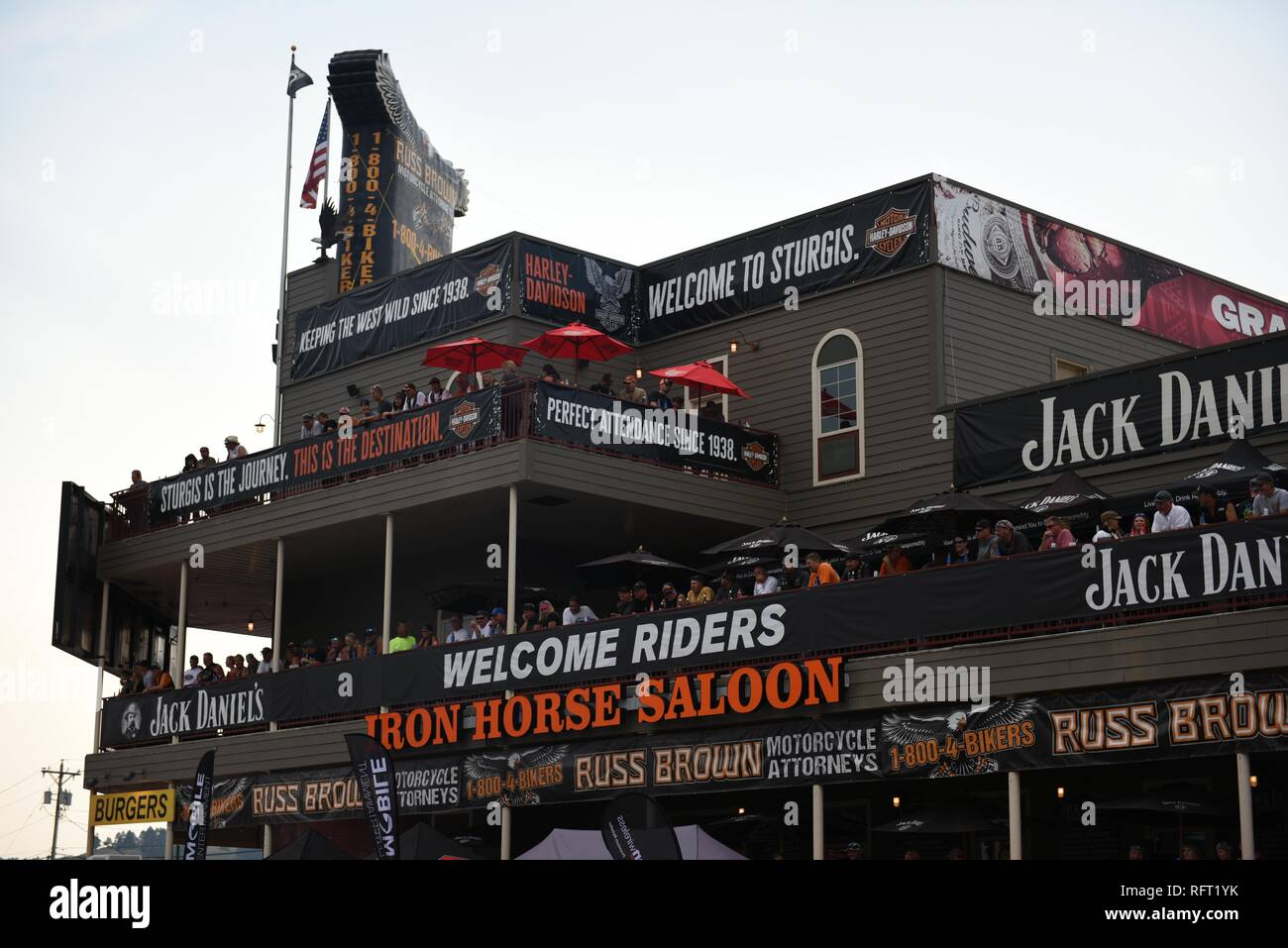 Motorcycle Rally Stock Photos & Motorcycle Rally Stock Images - Alamy