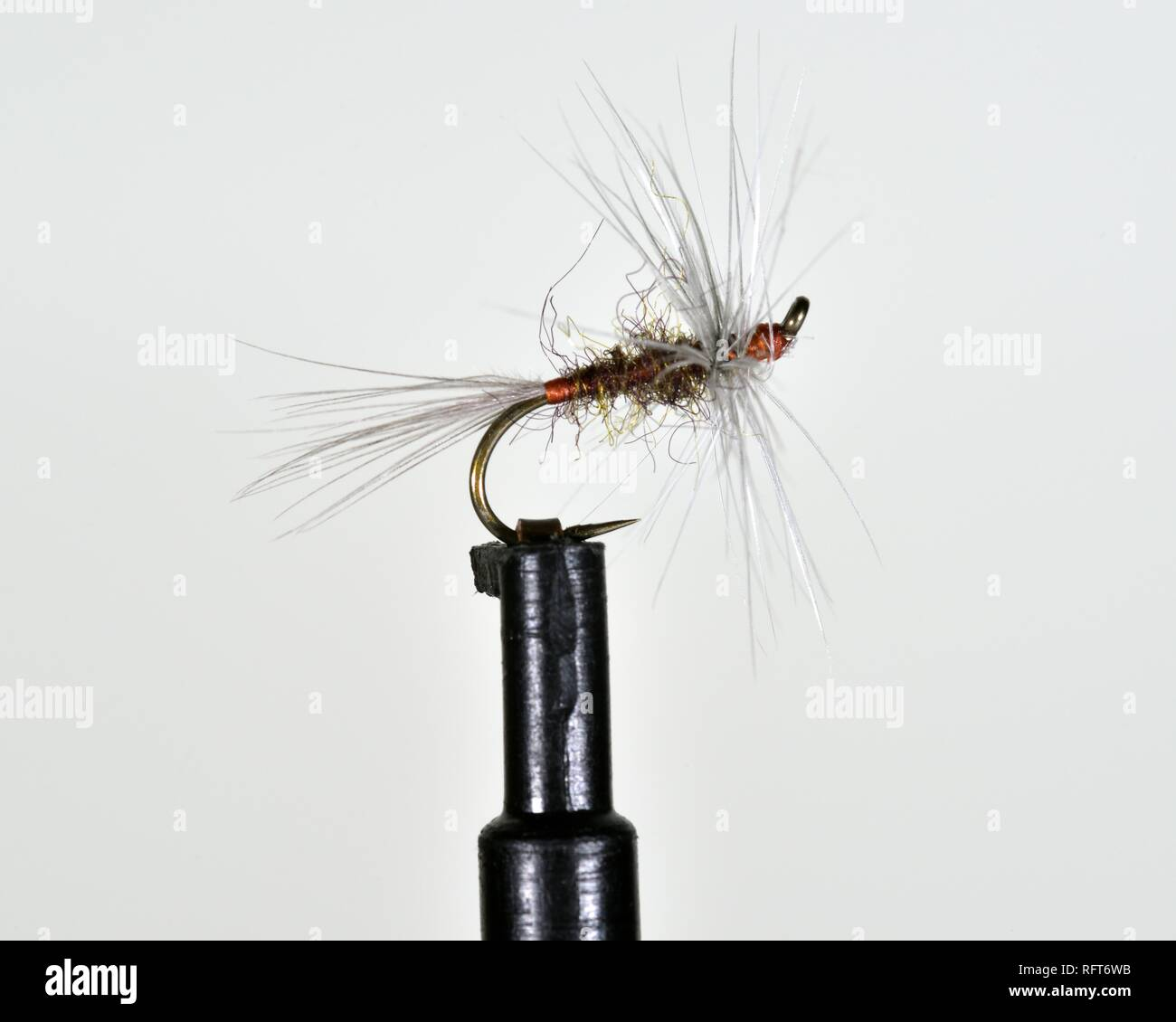 Barbless Hooks,Trout Dry Flies Blue Winged Olive Ducks Dun Fly Fishing,