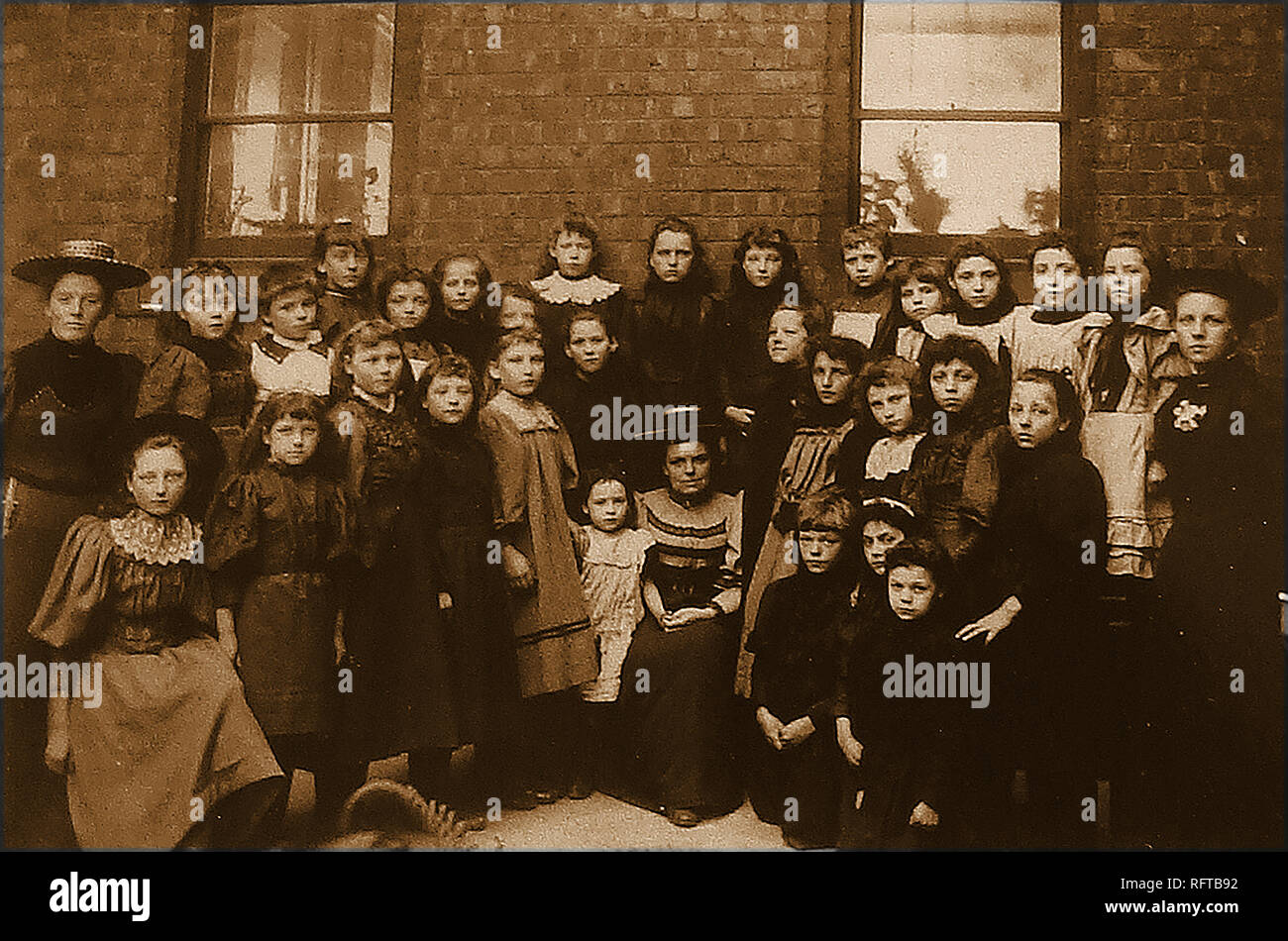 fd13921bc A Victorian school class photograph from Whitby, Yorkshire ...