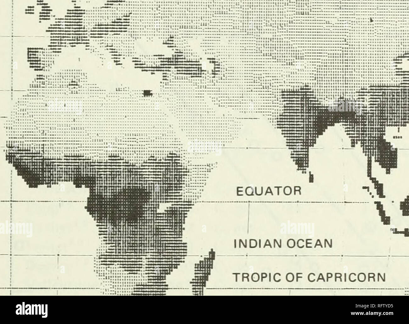 Tropic Of Capricorn On World Map.Tropic Capricorn Cancer Stock Photos Tropic Capricorn Cancer Stock