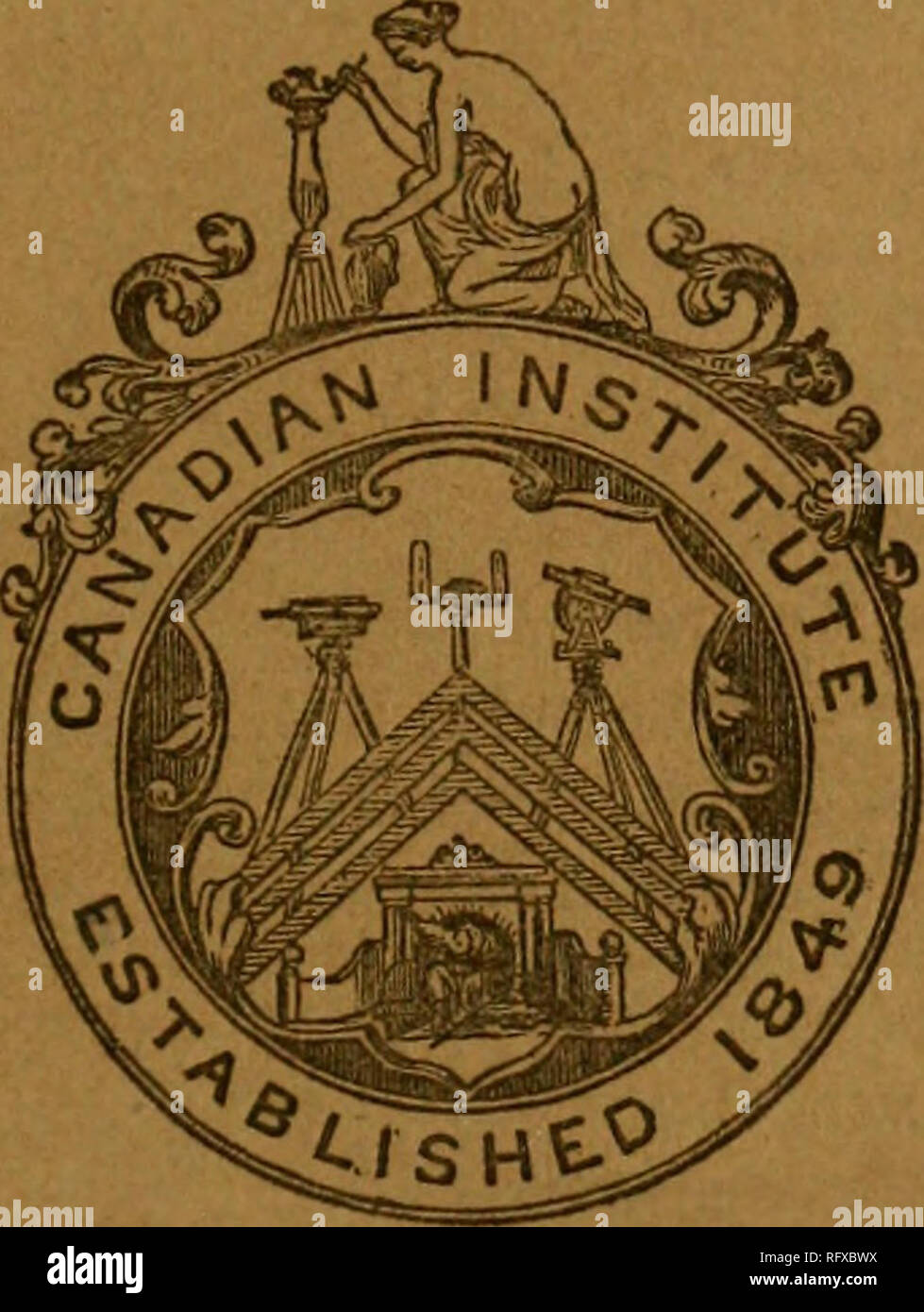 . The Canadian journal of industry, science and art. Of bt T 1-1 E â w^st # CANADIAN JOURNAL OF INDUSTRY, SCIENCE, AND ART: CONDUCTED BT THE EDITING COMMITTEE OF THE CANADIAN INSTITUTE, New Series.. Number Y. */ SEI»T3E33VE33ErL,. Please note that these images are extracted from scanned page images that may have been digitally enhanced for readability - coloration and appearance of these illustrations may not perfectly resemble the original work.. Canadian Institute. Toronto : Canadian Institute - Stock Image