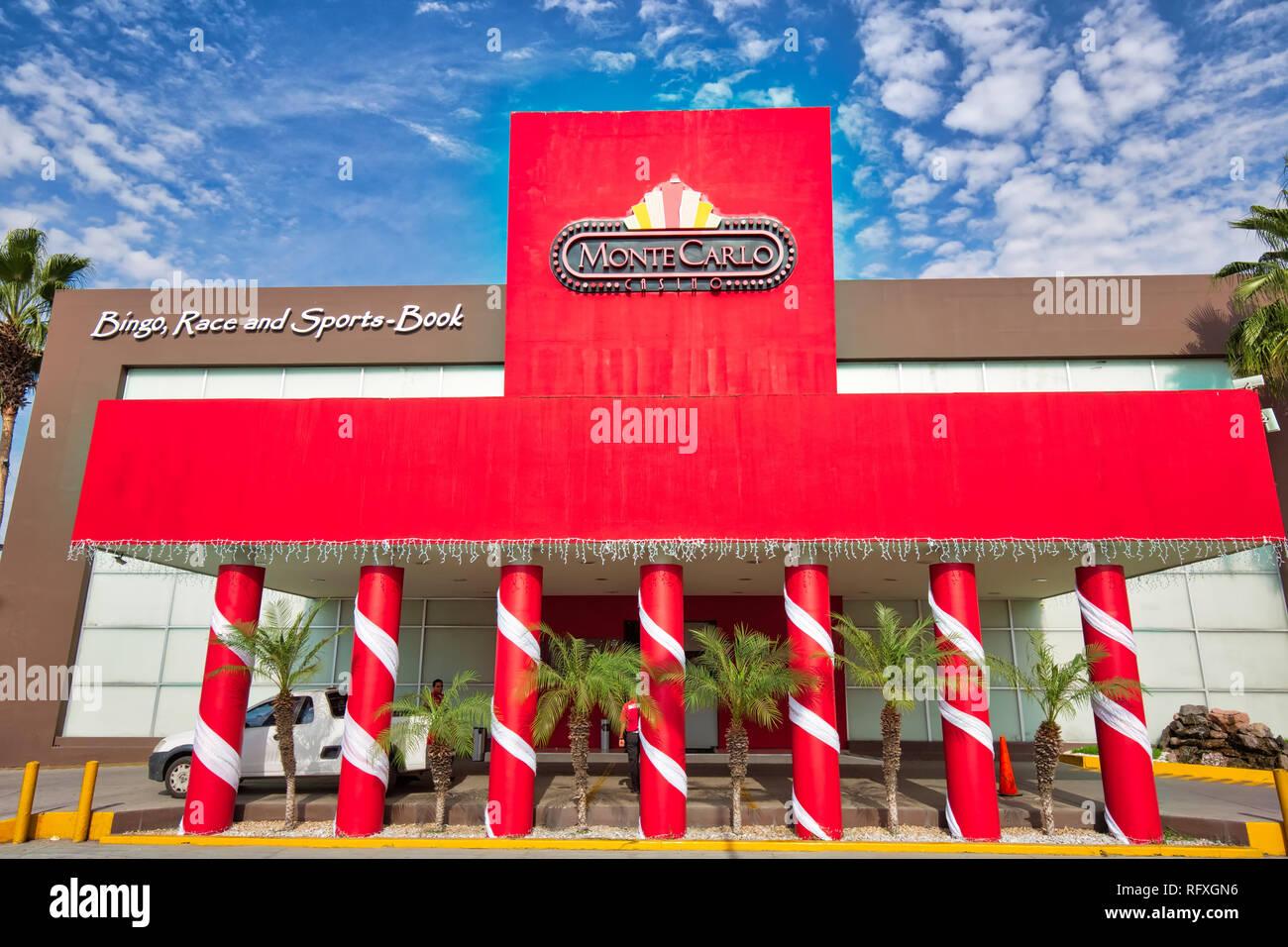Mazatlan, Mexico-10 December, 2018: Mazatlan Casino located in Golden Zone (Zona Dorada) Stock Photo