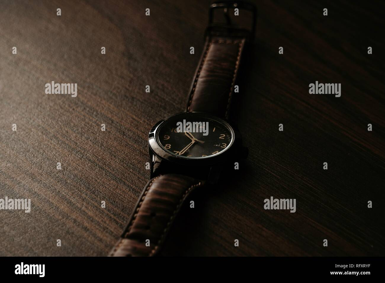 Mens Wrist Watch - Stock Image