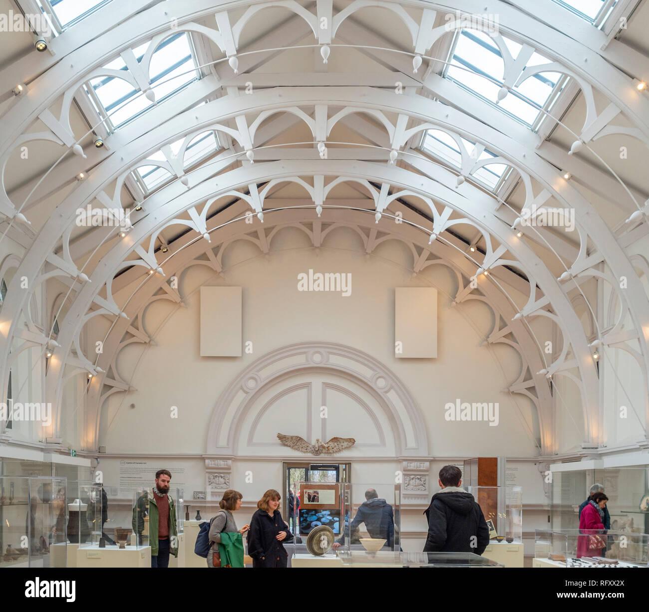 CENTRE OF CERAMIC ART (COCA), York Art Gallery. - Stock Image