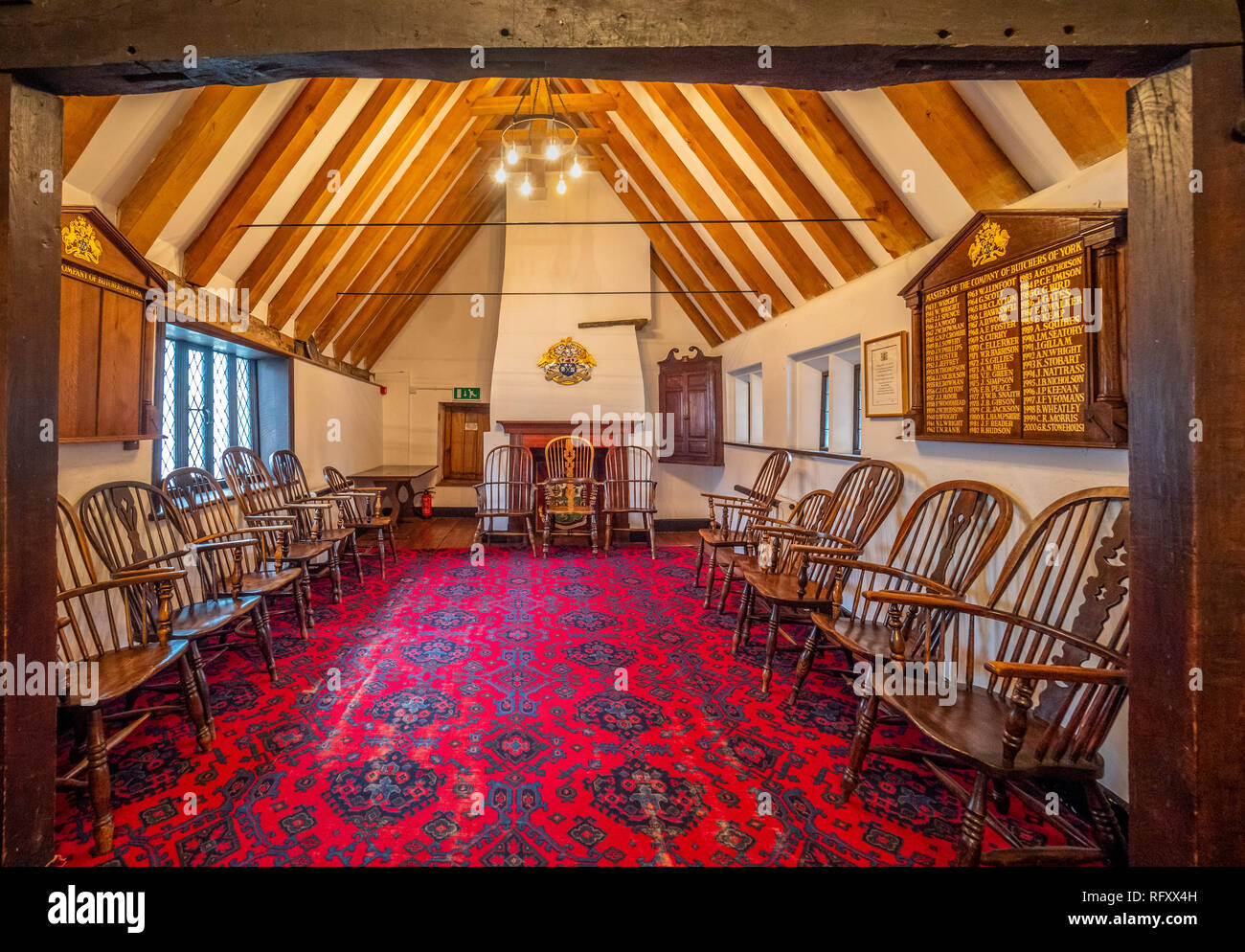 Jacob's Well, Medieval building and the parish room for the Priory Church of the Holy Trinity, Micklegate, York, UK. - Stock Image