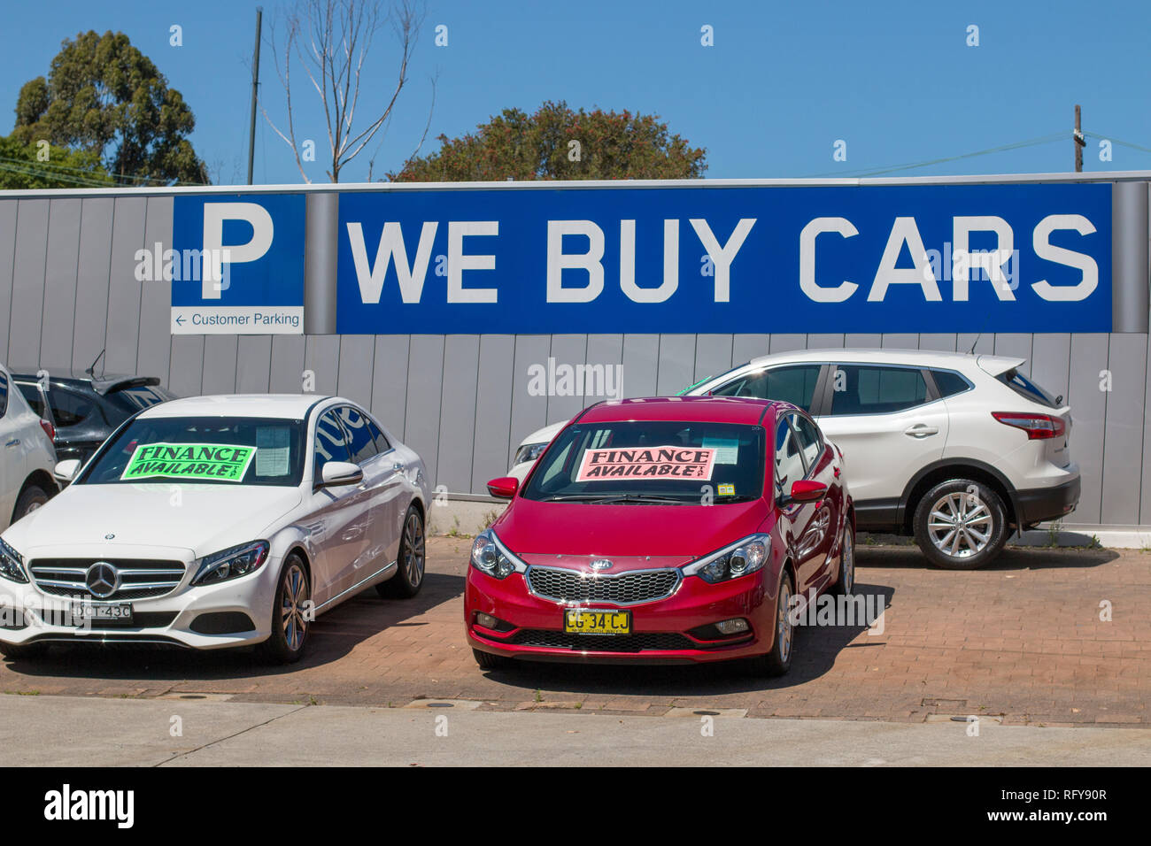 43e039ace0 Used Cars For Sale Stock Photos   Used Cars For Sale Stock Images ...