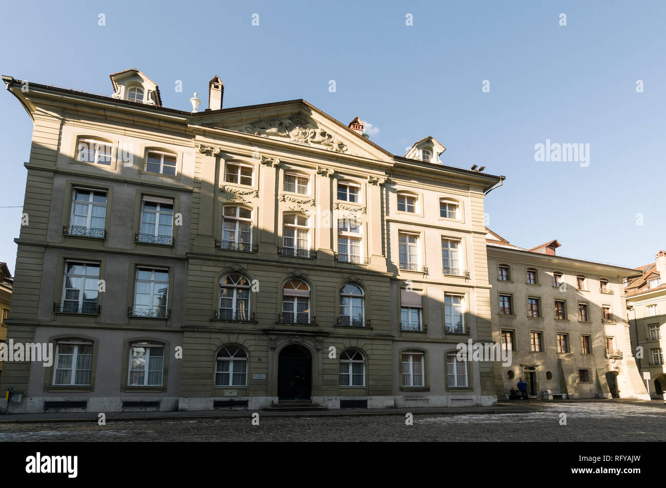 Swiss local Government department of the Finance for the Canton of Bern in Bern, Switzerland - Stock Image