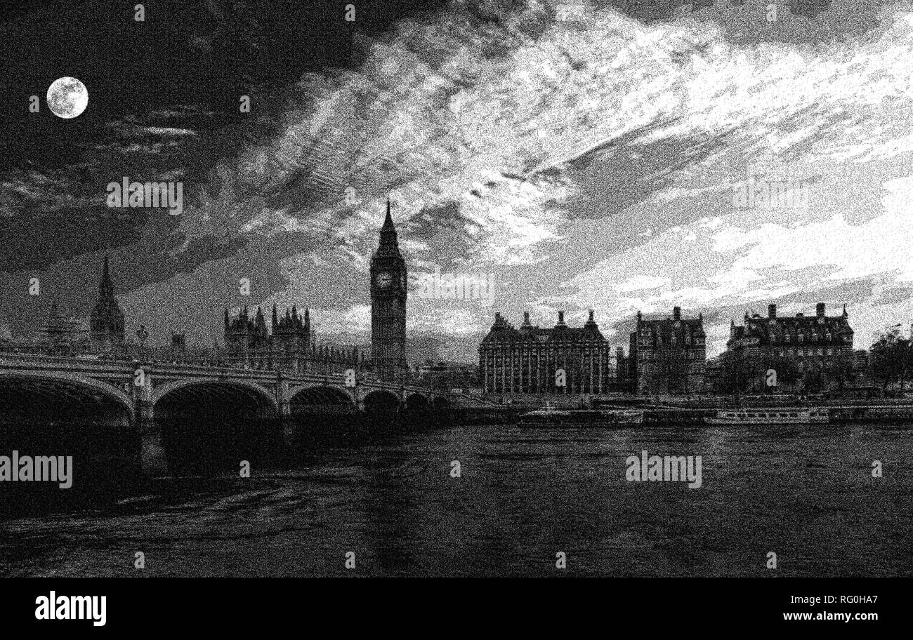 London Westminster Landmark England - Stock Image