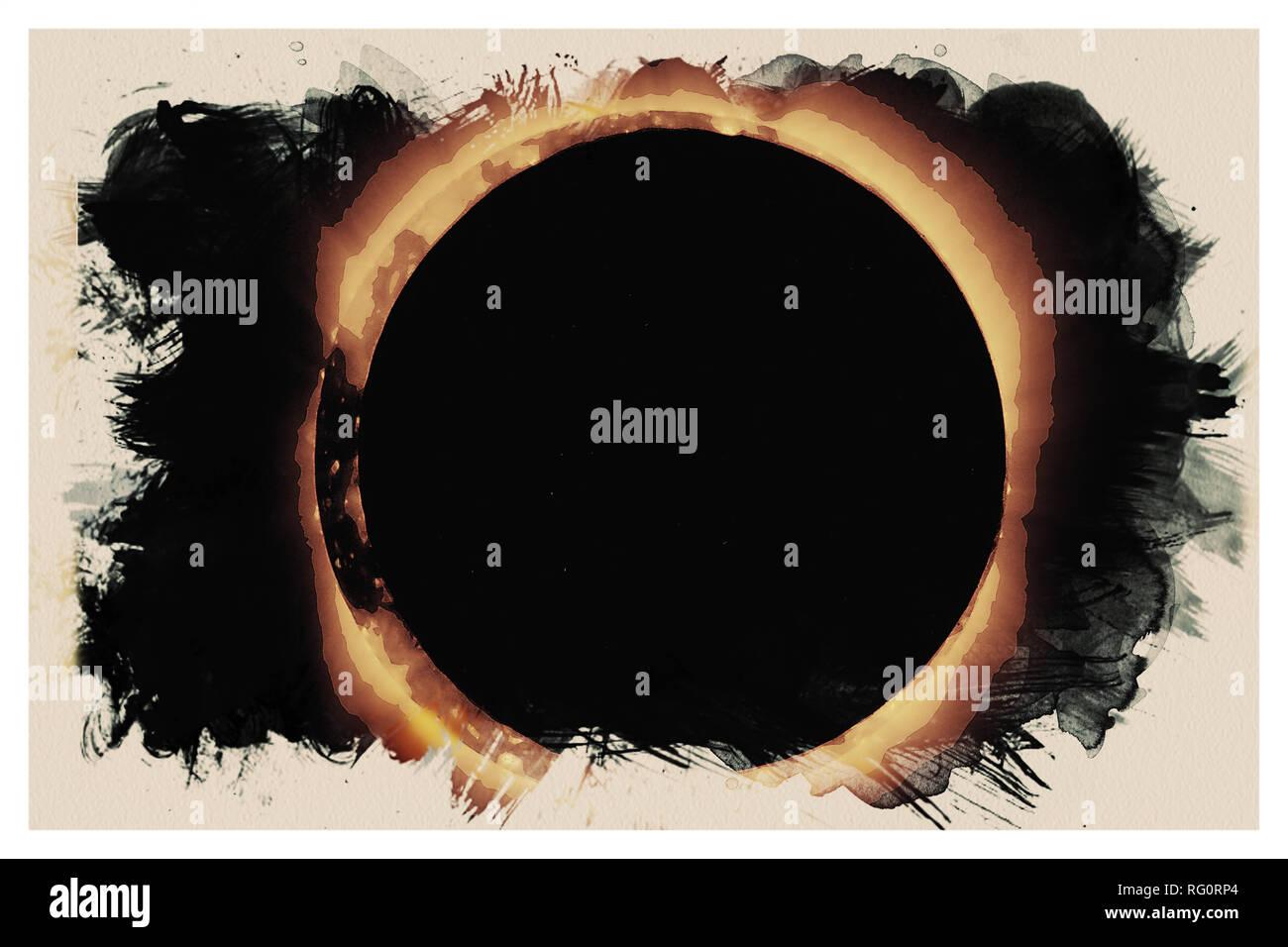 Solar Eclipse 2017 4.jpg - RG0RP5 - Stock Image