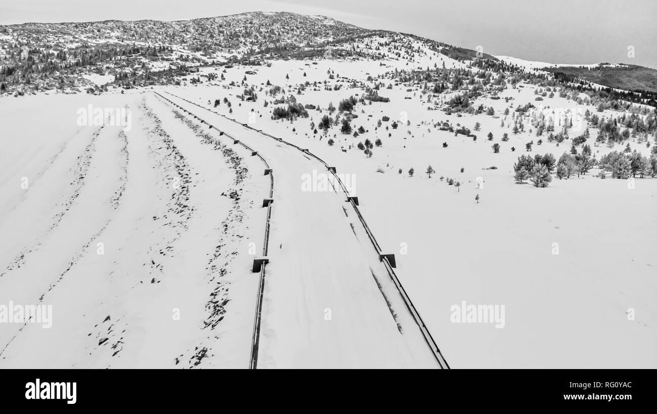 Beautiful Drone Photography - Stock Image