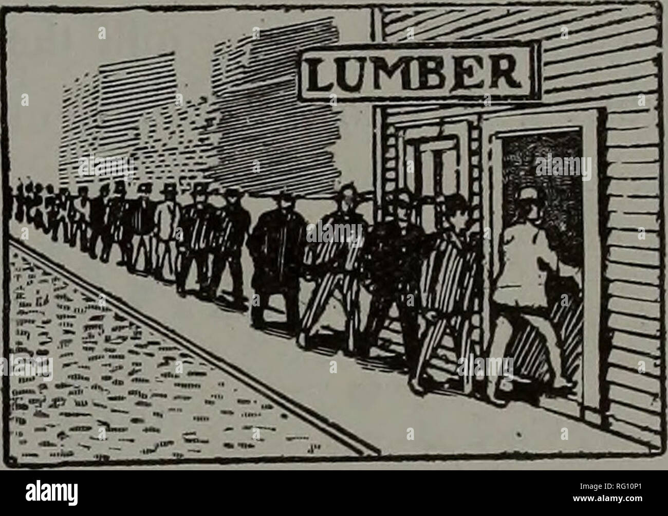 Canadian forest industries 1910  Lumbering