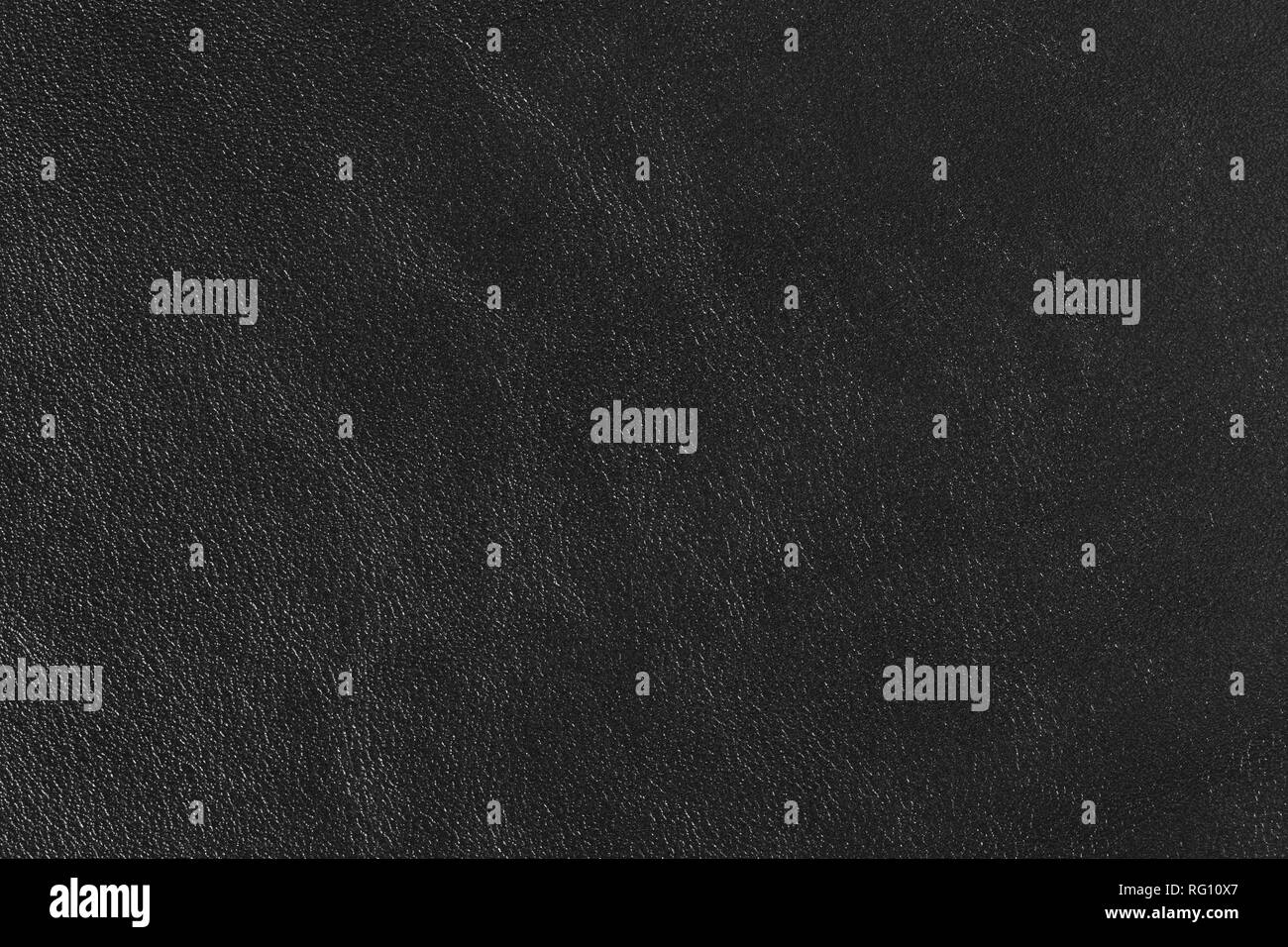 Black leather texture background for your unique project.. - Stock Image