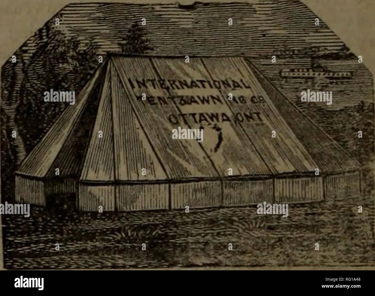 Canadian forest industries 1885  Lumbering