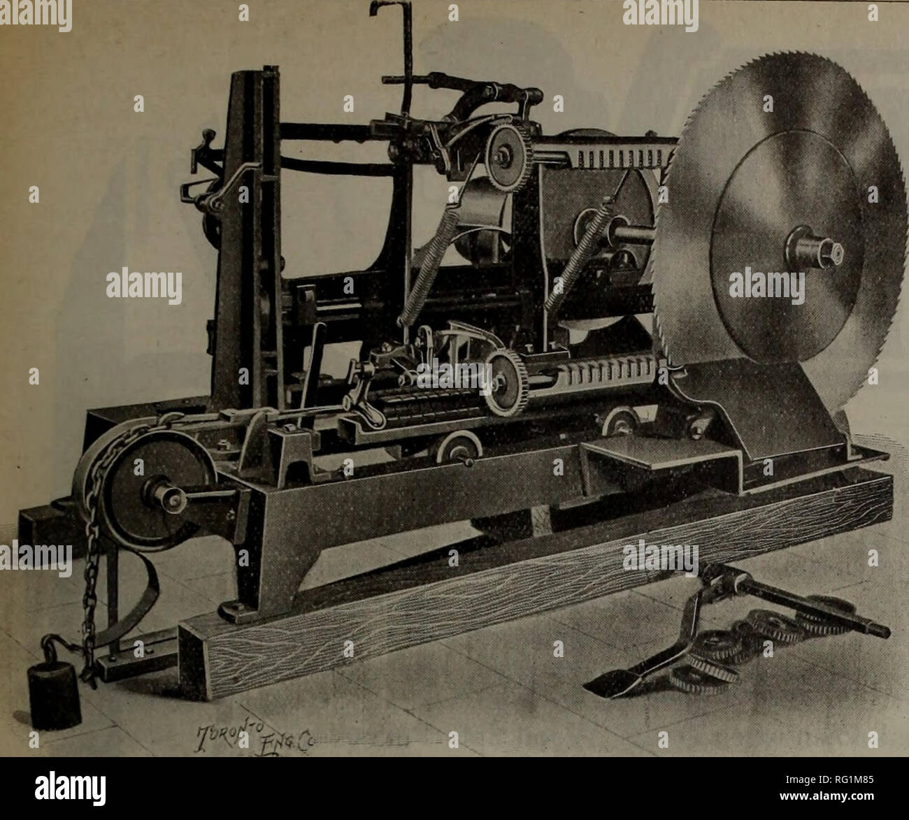 Canadian forest industries 1903  Lumbering