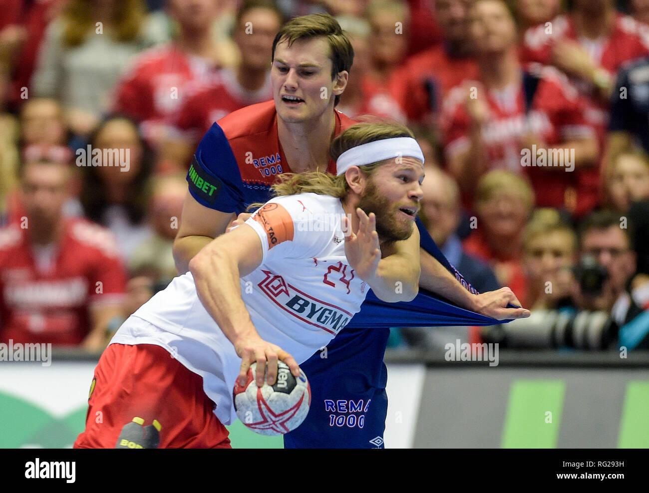 55476a10b Herning, Denmark. 27th Jan, 2019. Handball: WM, final round, final ...