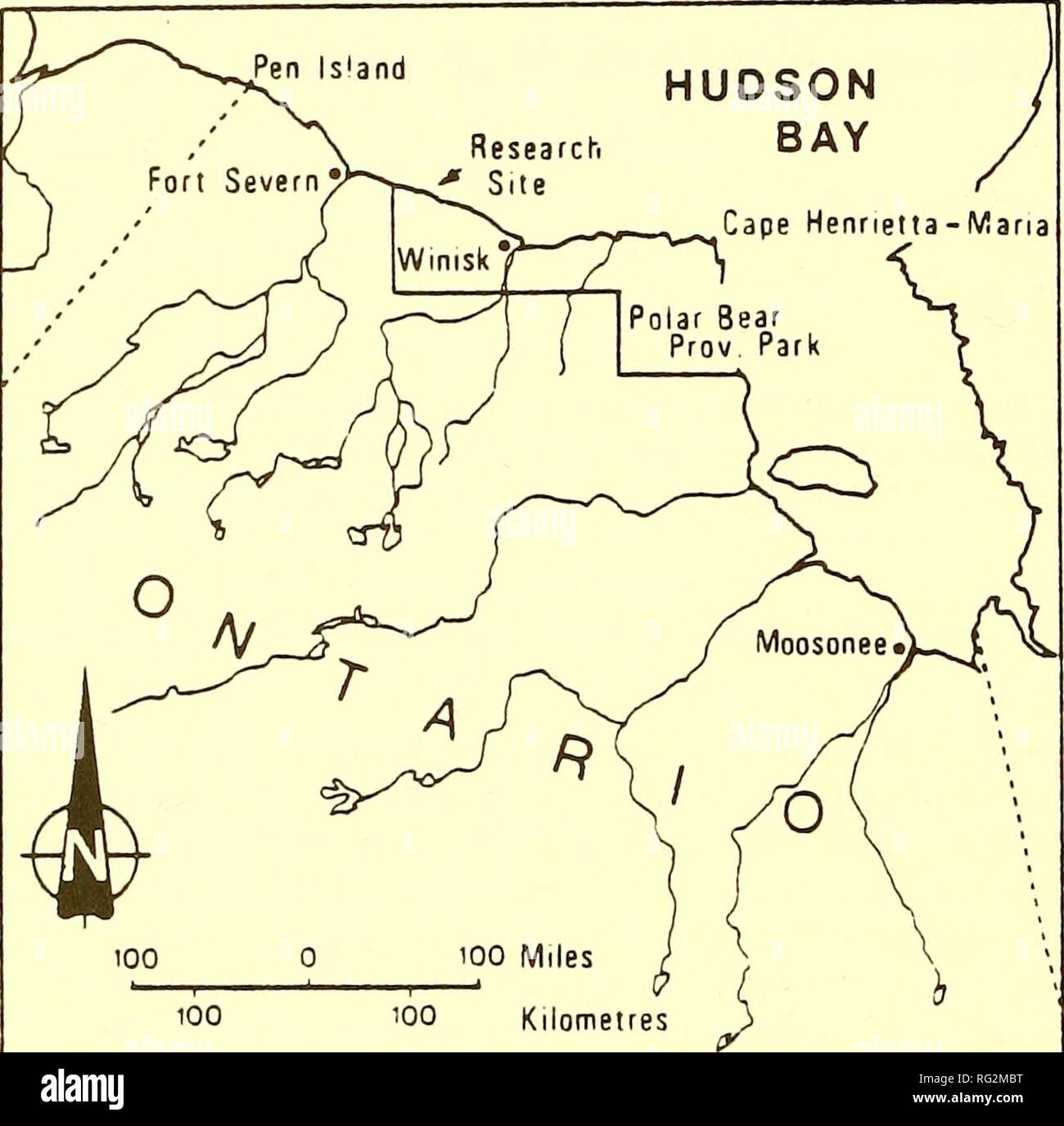 North Arrow On Map Of Canada.The Canadian Field Naturalist 336 The Canadian Field Naturalist Vol
