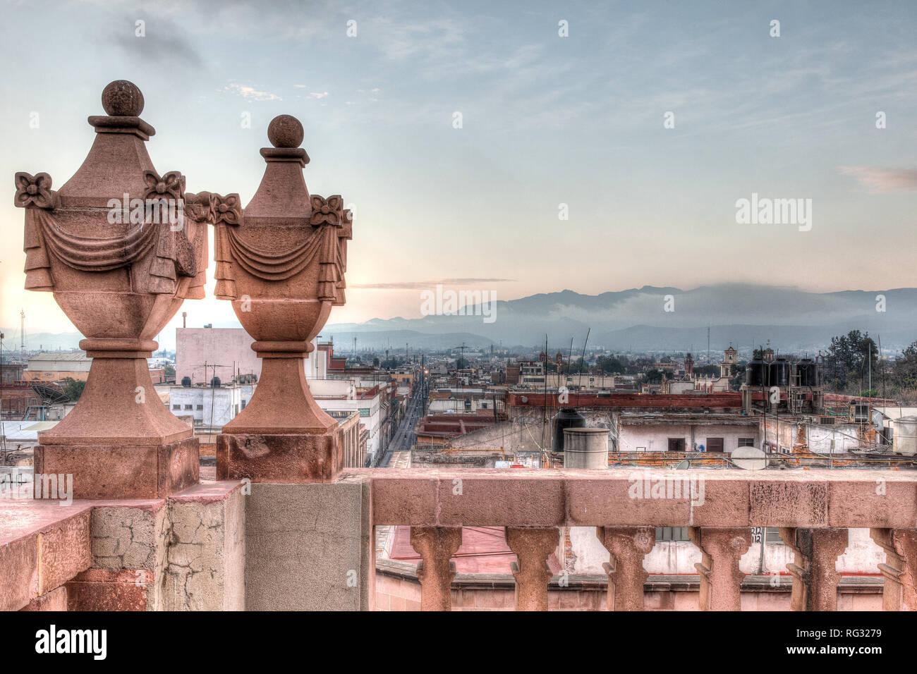 Rooftop view of San Luis Potosi - Stock Image