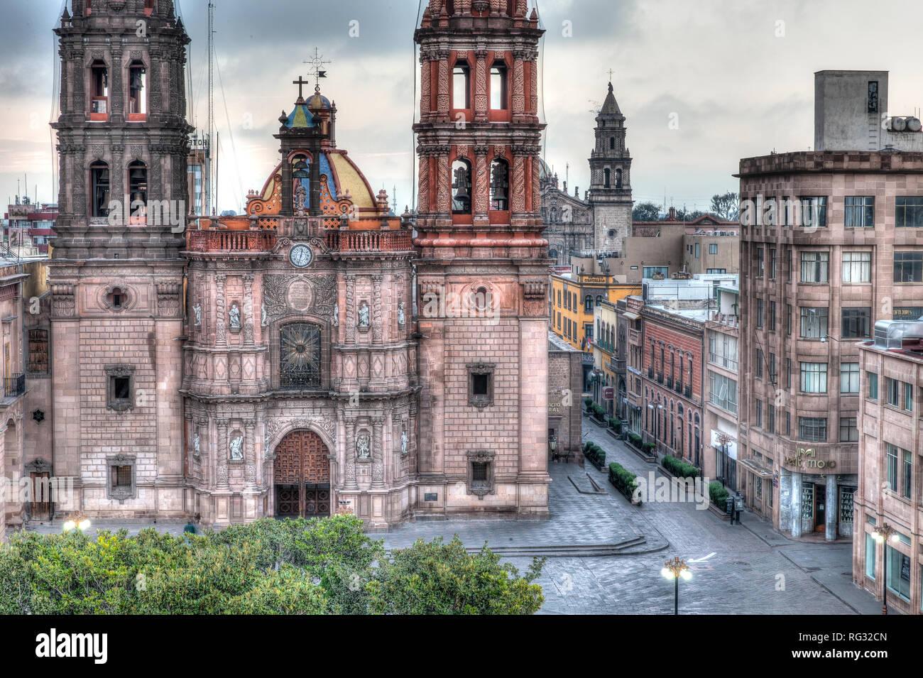 Cathedral Metropolitana de San Luis Potosi - Stock Image