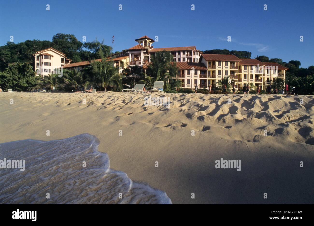 GRD, Grenada: the La Source hotel near St. George's. - Stock Image
