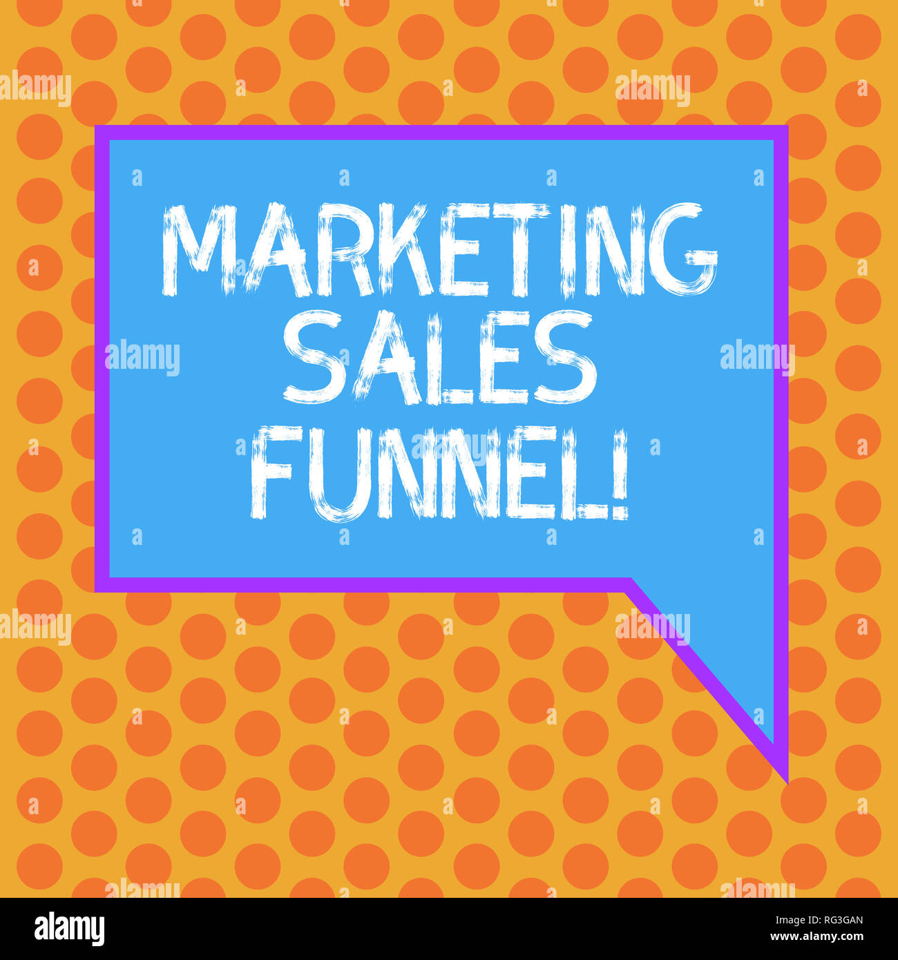 Writing note showing Marketing Sales Funnel  Business photo