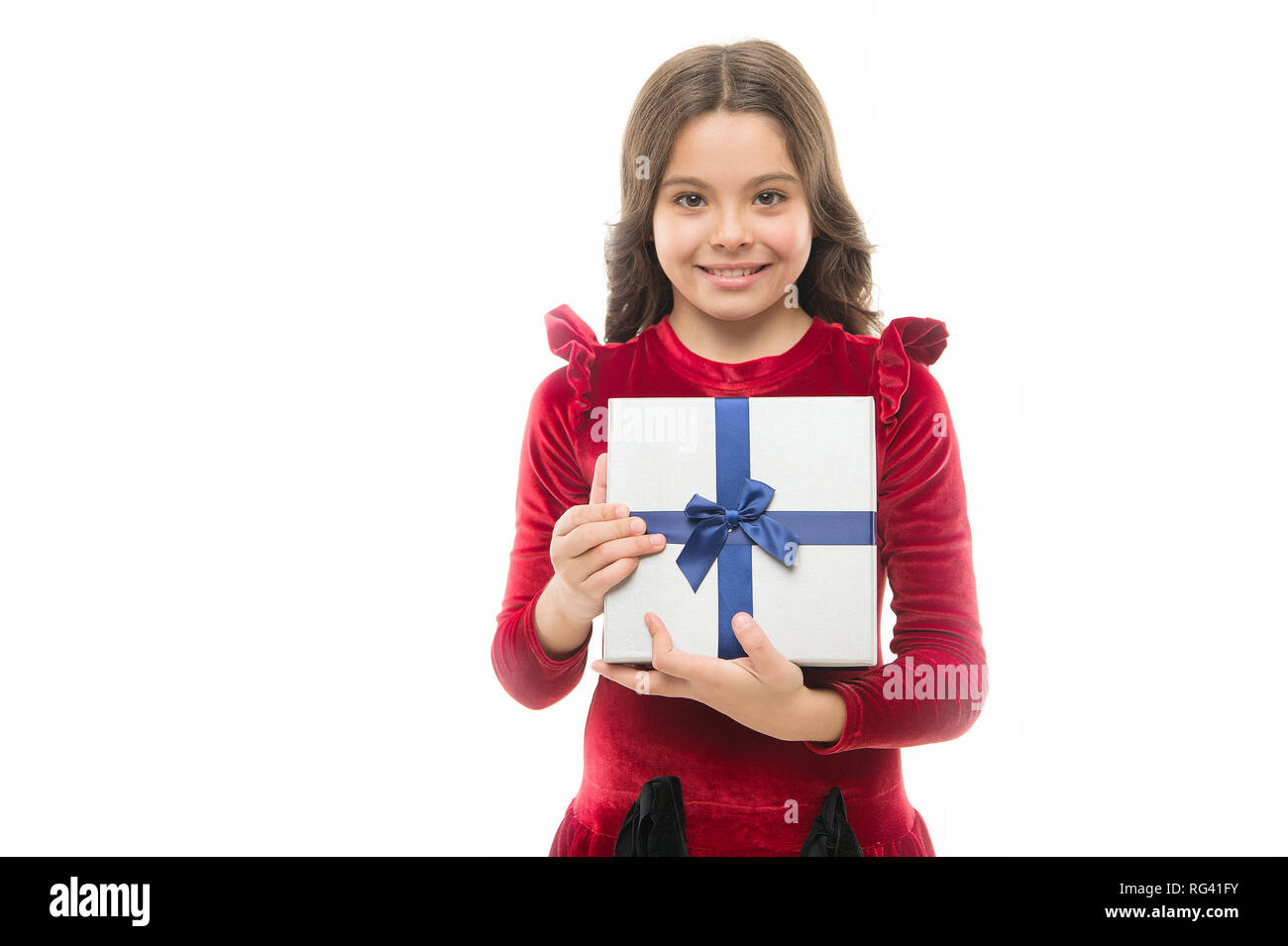 Happy Birthday Gift Big Sale In Shopping Mall Boxing Day Small Girl After
