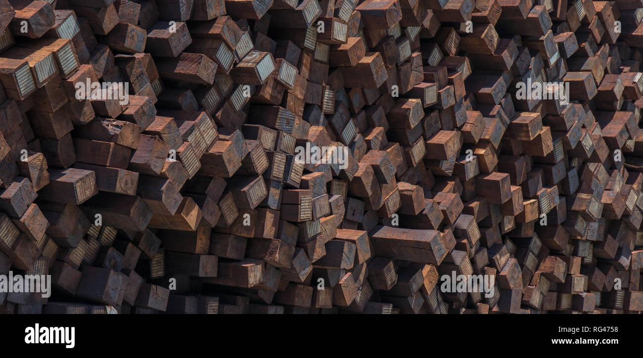 Railroad Ties Stock Photos & Railroad Ties Stock Images - Alamy