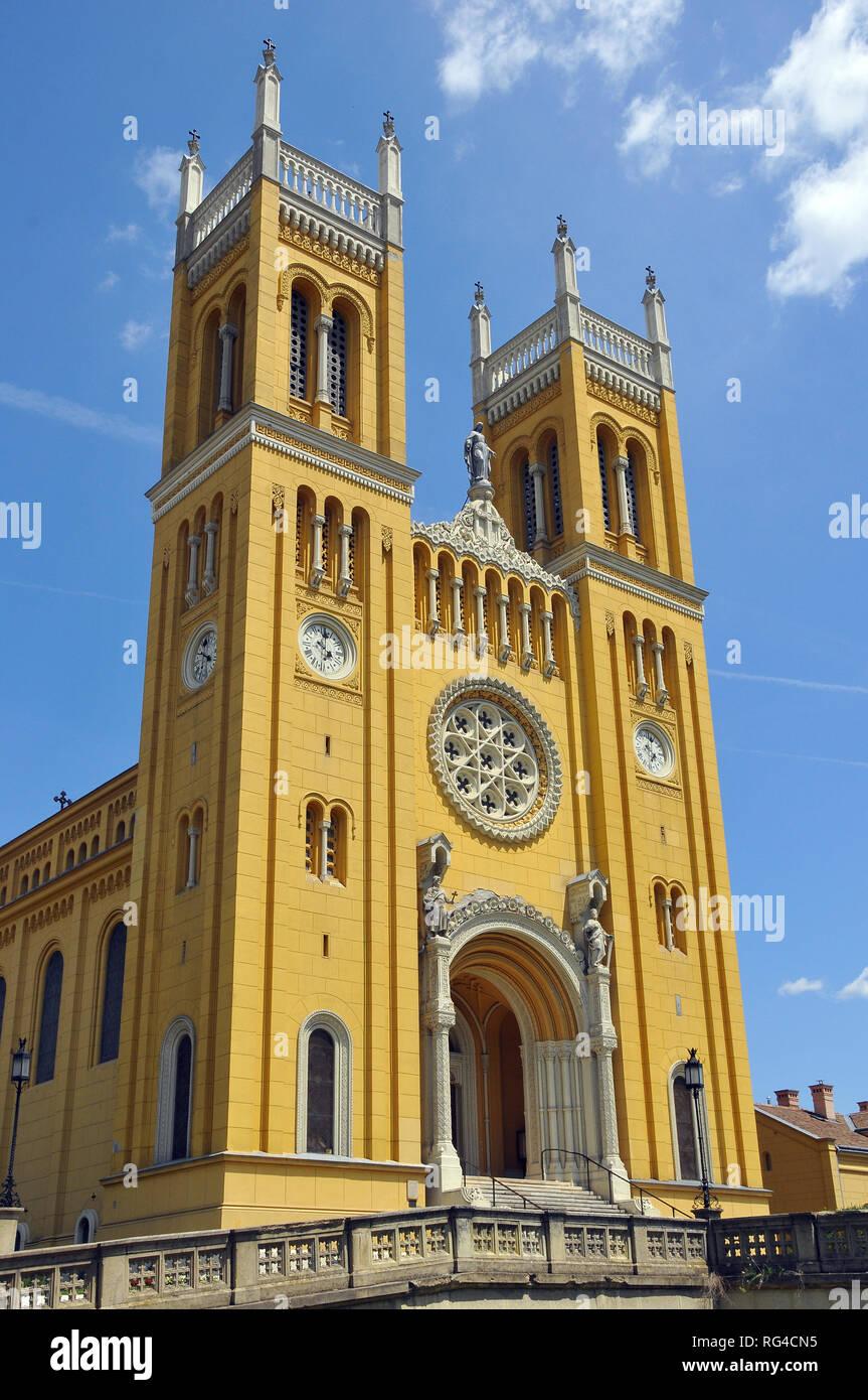 Roman Catholic Church in Fót, Hungary. - Stock Image