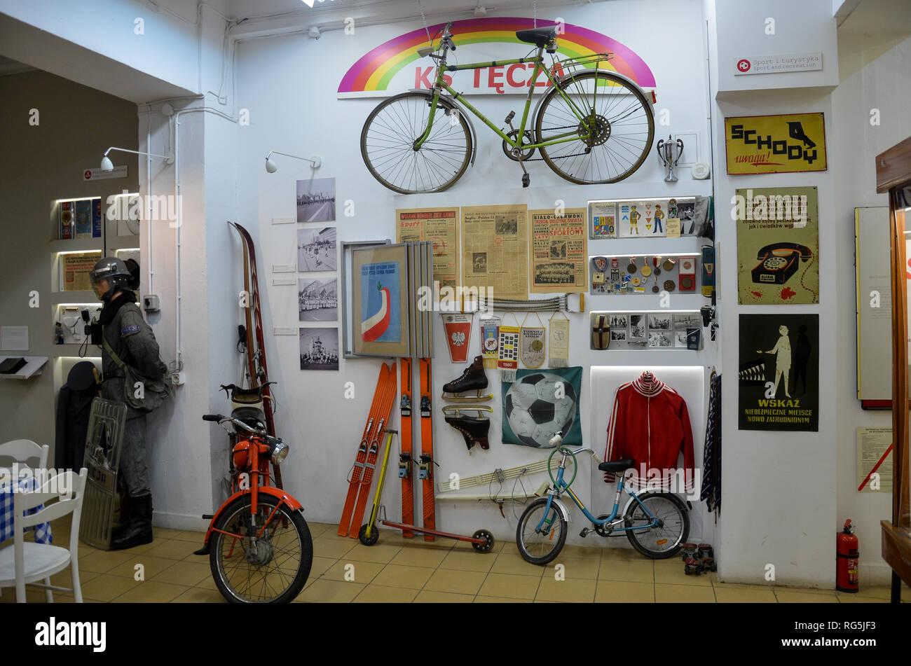 Czar PRL (Museum of Life Under Communism) in the Praga district, east Warsaw, Poland, November 2018 - Stock Image