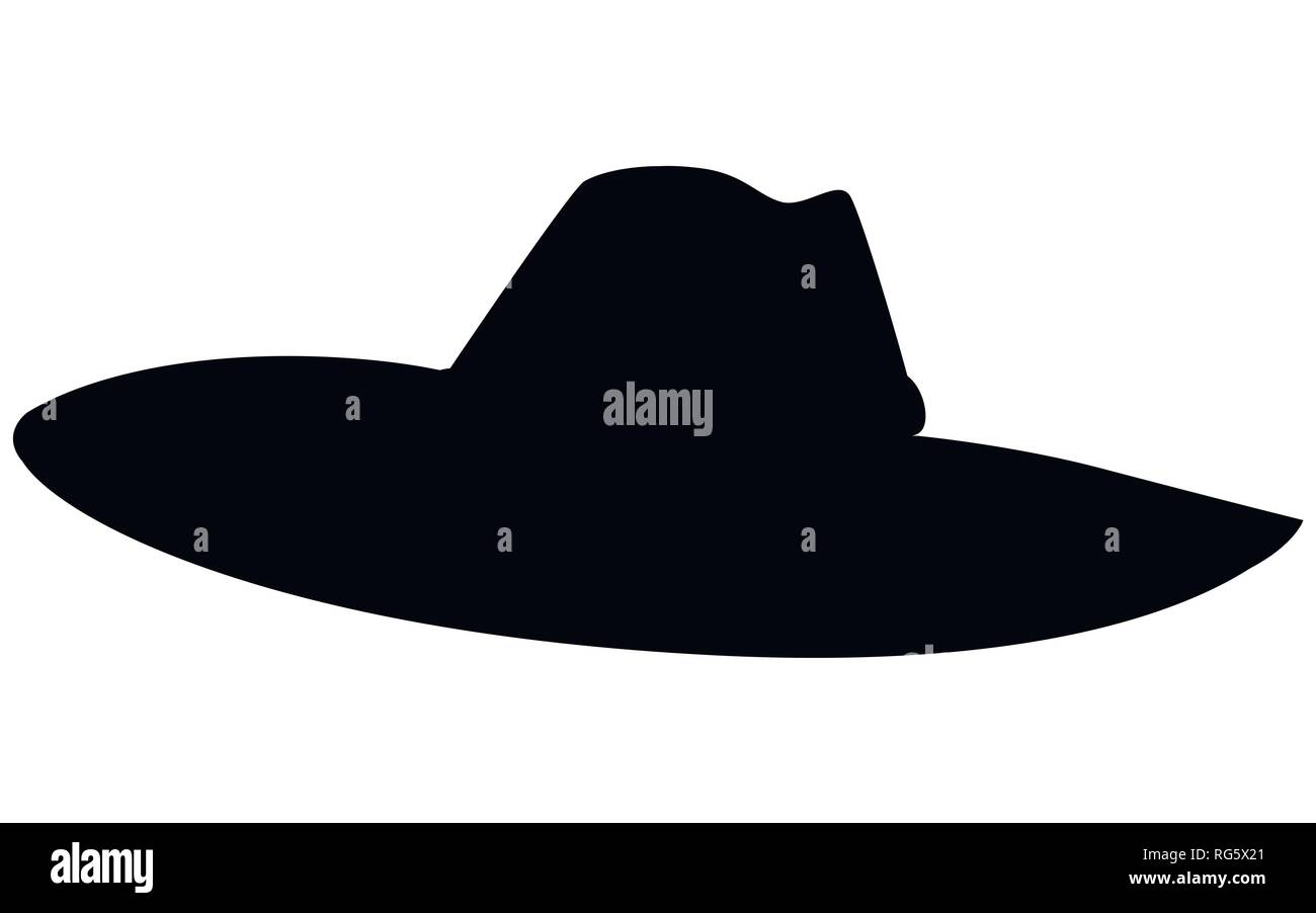 528b9547c50 Classic cowboy hat. Element of clothes sheriff or cowboys. Western style
