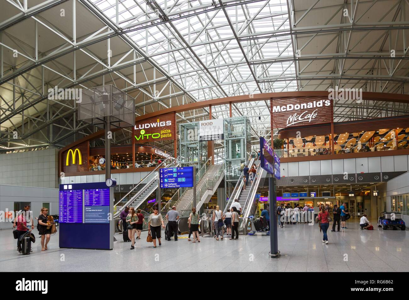 mcdonalds frankfurt airport