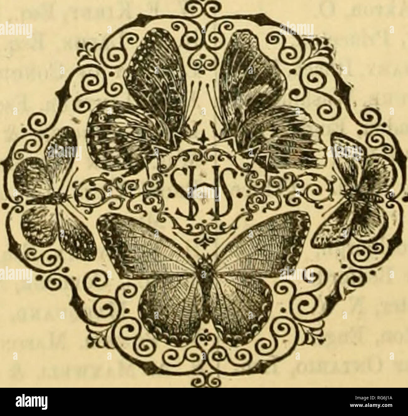 . The butterflies of the eastern United States and Canada : with special reference to New England. Butterflies; Butterflies. 1958 LIST OF SUBSCRIBERS, MAY, 1889. Miss A. L. Mato, Boston. Mercantile Libeaey, New York. Prof. L. C. Miall, Yorkshire College, Leeds, Engl. William Minot, Jr., Esq., Boston. Miss Emily L. Morton, Newburgh, N. Y. New Britain Institute, New Britain, Conn. Lionel de Niceville, Esq., Calcutta. M. Charles Obertiiijr, Keiiues, France. Alfred Pell, Esq., Highland Falls, N. Y. Mr. R. H. Porter, London, Engl. (Three copies.) Providence Athen^um, Providence, R. I. Public Librar - Stock Image