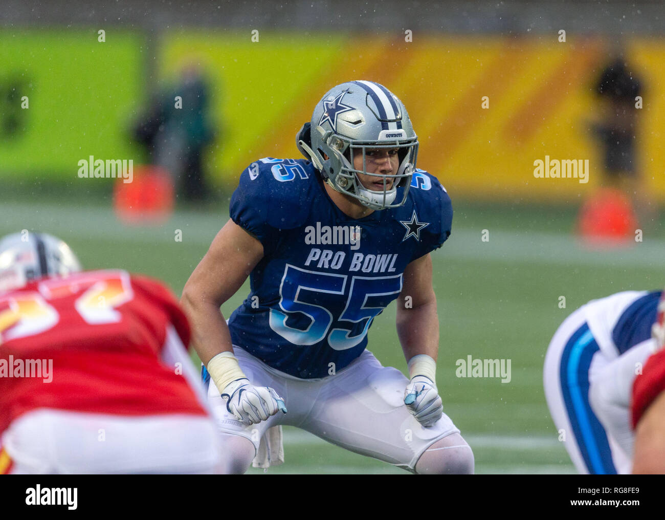 Leighton Vander Esch Stock Photos   Leighton Vander Esch Stock ... 084a07a4e