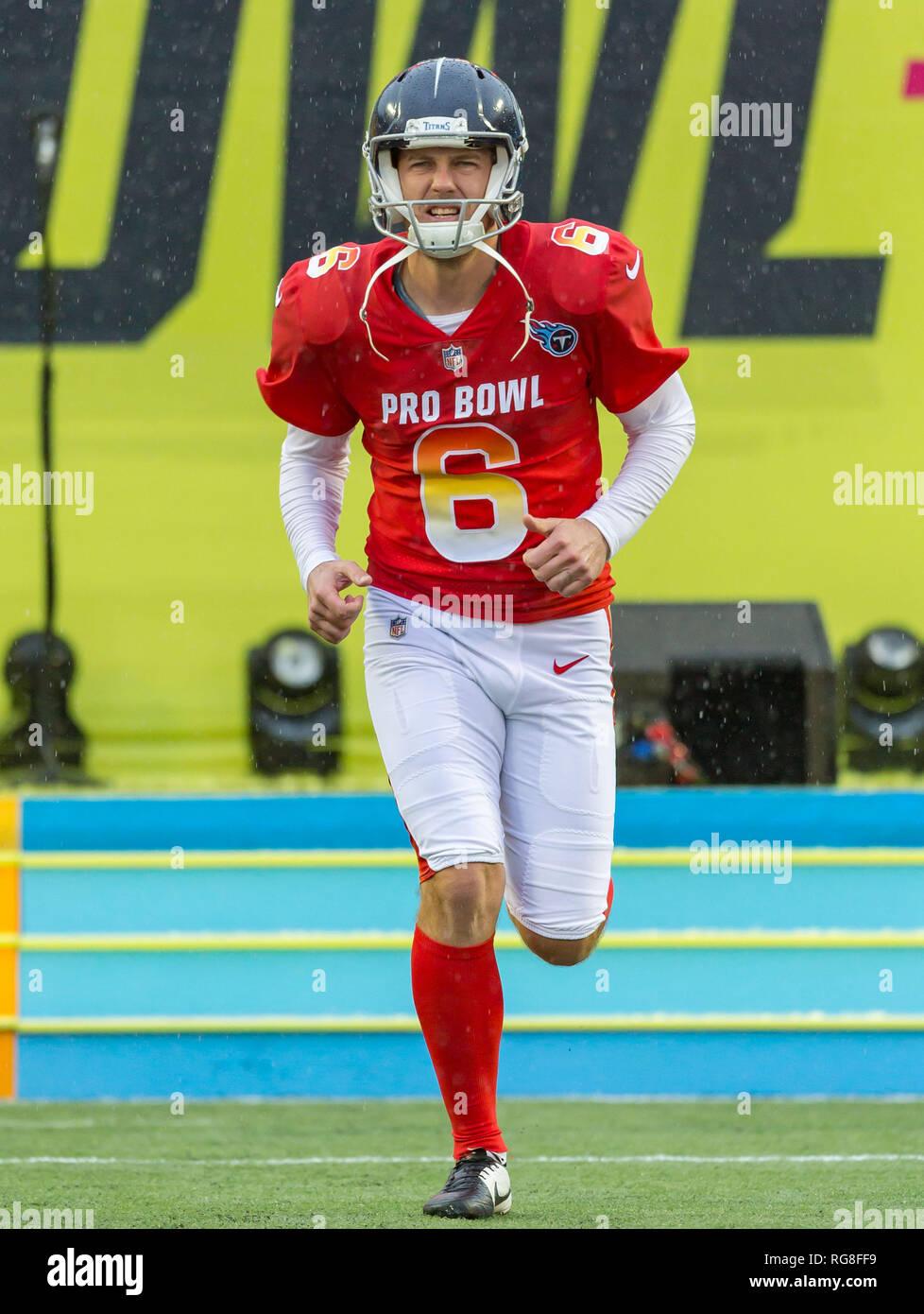 Brett Kern Tennessee Titans AFC Pro Bowl Game Jersey
