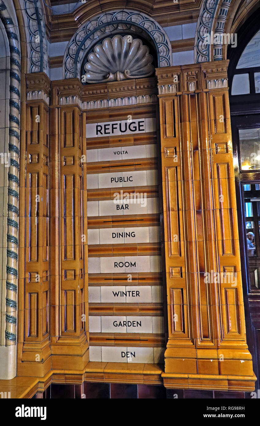 Refuge assurance Company Head Office Building, Oxford Road, Manchester, North West England, UK, - Stock Image
